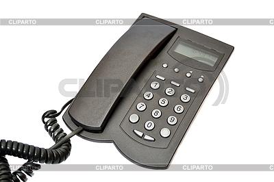 Black telephone   High resolution stock photo  ID 3082972