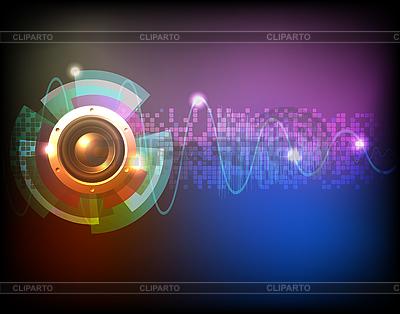 霓虹背景音乐 | 向量插图 |ID 3207803