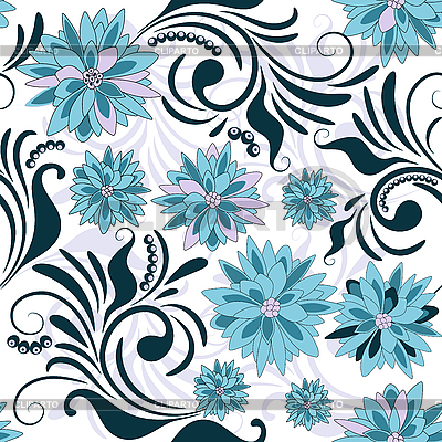 Seamless floral pattern   Stock Vector Graphics  ID 3089986