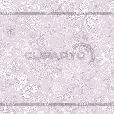 Gentle pink seamless Christmas pattern | Stock Vector Graphics |ID 3104226
