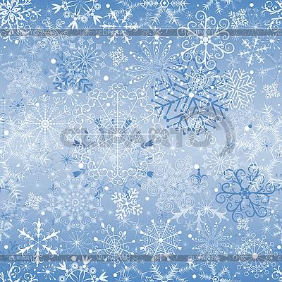 크리스마스 강설 (원활한) | 벡터 클립 아트 |ID 3104256