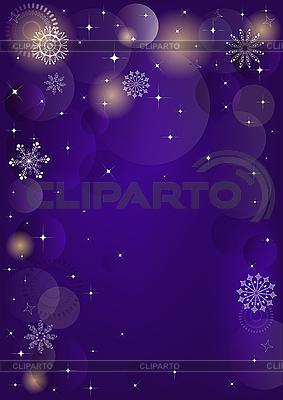 Violet christmas background   Ilustración vectorial de stock  ID 3104325
