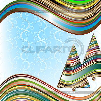 Vivid christmas card | Stock Vector Graphics |ID 3104424