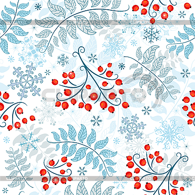 Winter seamless pattern | Stock Vector Graphics |ID 3110216