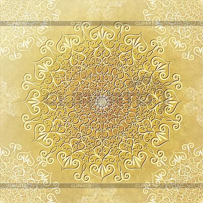 Altes Papier mit umlaufendem Rahmen | Illustration mit hoher Auflösung |ID 3110249