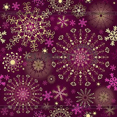 Boże Narodzenie fioletowy bez szwu   Klipart wektorowy  ID 3113093