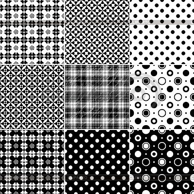 Big collection seamless patterns | Stock Vector Graphics |ID 3222379