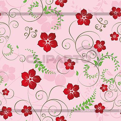 Jednolite kwiatowy wzór | Klipart wektorowy |ID 3087239