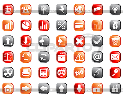 Icons set | Stock Vector Graphics |ID 3087321