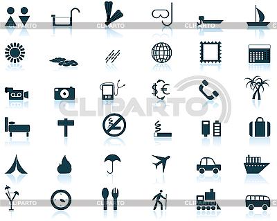 Travel icons set | Stock Vector Graphics |ID 3087334