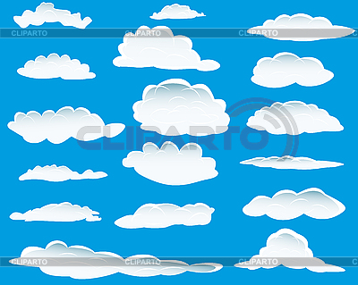 Different clouds | Stock Vector Graphics |ID 3088050