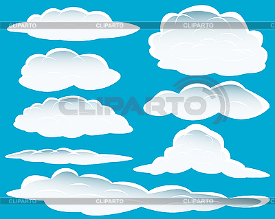 Different clouds | Stock Vector Graphics |ID 3088054