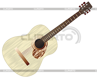 Acoustic guitar | Stock Vector Graphics |ID 3088114