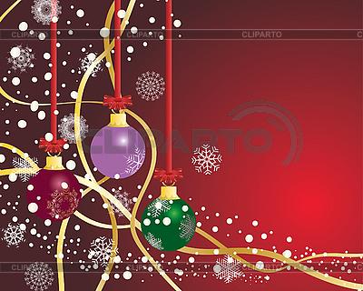 Christmas balls | Stock Vector Graphics |ID 3089052