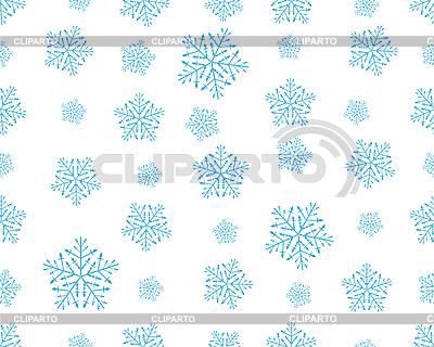 Bez szwu płatki śniegu | Klipart wektorowy |ID 3089108