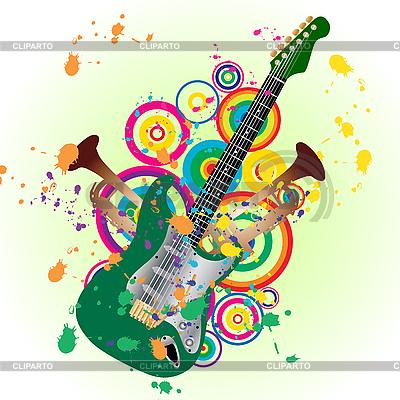 Guitar   Stock Vector Graphics  ID 3089774