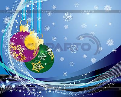 Christmas balls | Stock Vector Graphics |ID 3101040