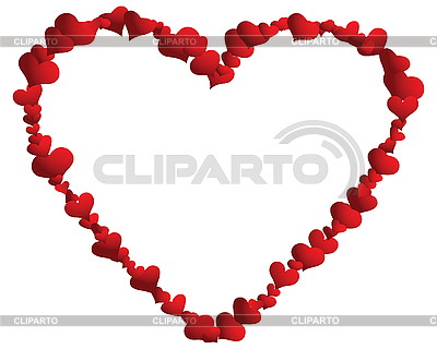 Heart frame   Stock Vector Graphics  ID 3101194