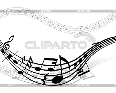 음악 노트 배경 | 벡터 클립 아트 |ID 3103971