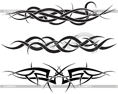 Tattoos set | Stock Vector Graphics |ID 3152153