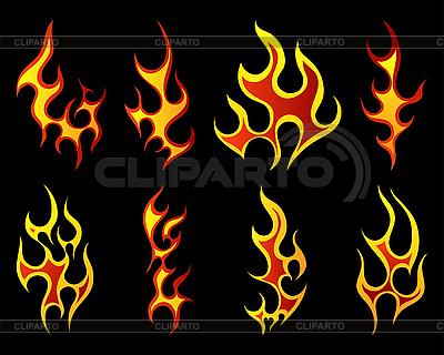 Fire set | Stock Vector Graphics |ID 3157495