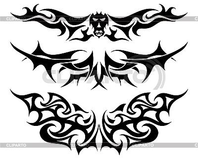 Tribal tattoo set | Stock Vector Graphics |ID 3157577