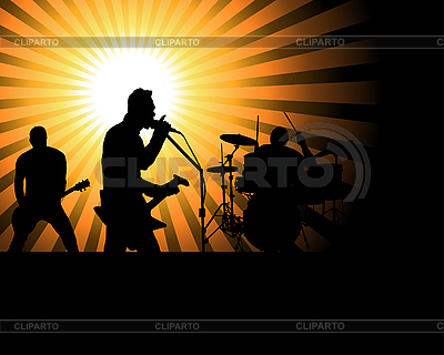 Rock group | Stock Vector Graphics |ID 3158355