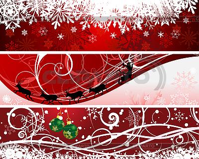 Christmas banners | Stock Vector Graphics |ID 3177262