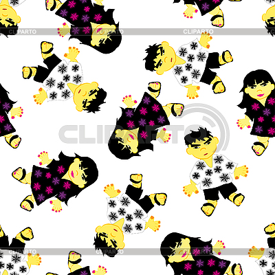 Greeting seamless pattern   Stock Vector Graphics  ID 3195188