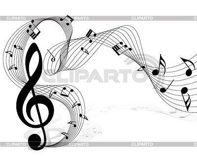 음악 노트 | 벡터 클립 아트 |ID 3224890
