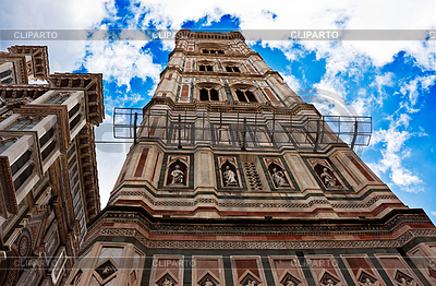 Belltower of Cathedral of Florence | High resolution stock photo |ID 3232956