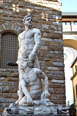 Hercules and Cacus | High resolution stock photo |ID 3344220