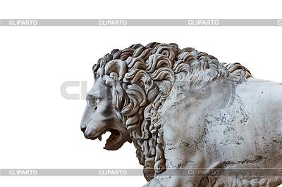 Llion near Palazzo Vecchio | High resolution stock photo |ID 3346398