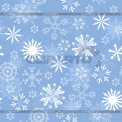 Seamless snowflakes background   High resolution stock illustration  ID 3365989