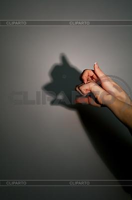 Silhouette - Schatten eines Schweins | Foto mit hoher Auflösung |ID 3128220