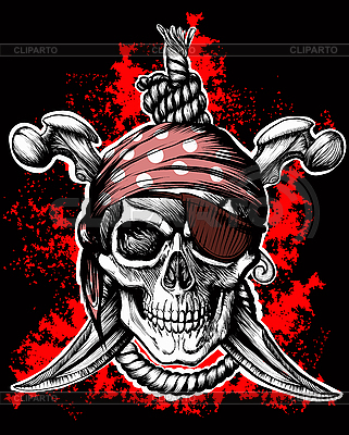 Jolly Roger | Stock Vector Graphics |ID 3083094