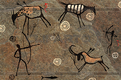 Rock paintings | High resolution stock photo |ID 3112003
