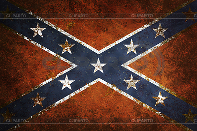 Vintage Confederate Flag | High resolution stock illustration |ID 3305108
