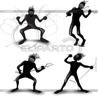 Rockers | Stock Vector Graphics |ID 3305291
