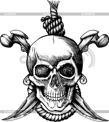Jolly Roger Skull | Stock Vector Graphics |ID 3305298
