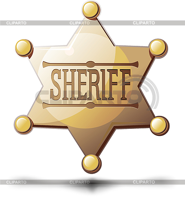 Sheriff Star | Stock Vector Graphics |ID 3305309
