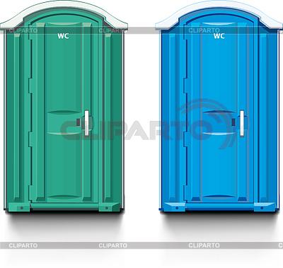 Street biotoilet | Stock Vector Graphics |ID 3305357