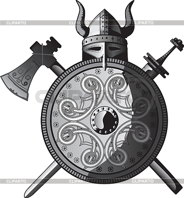 Viking set | Stock Vector Graphics |ID 3305374