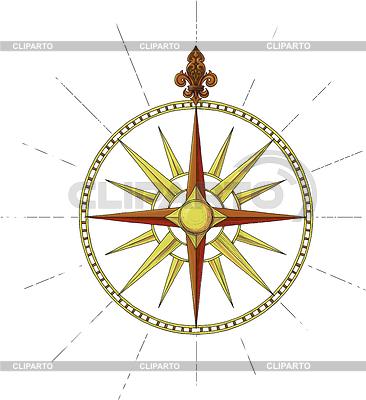 Former Marine Wind Rose symbol | Stock Vector Graphics |ID 3305388