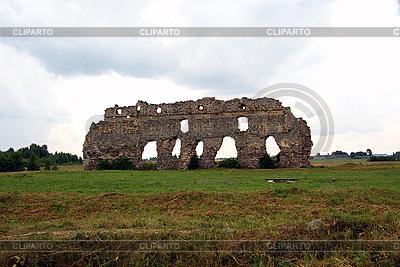 Ruine der Burg in Lais | Foto mit hoher Auflösung |ID 3083967
