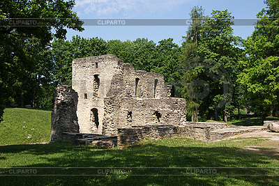 Ruins of castle Paide | High resolution stock photo |ID 3087586