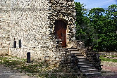파이드에서 성곽의 유적 | 높은 해상도 사진 |ID 3087592