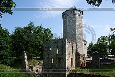 파이드에서 성곽의 유적 | 높은 해상도 사진 |ID 3087593
