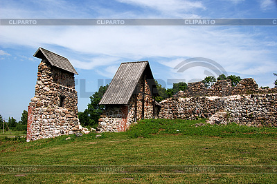 Ruins of castle in Karksi-Nuia | High resolution stock photo |ID 3087607