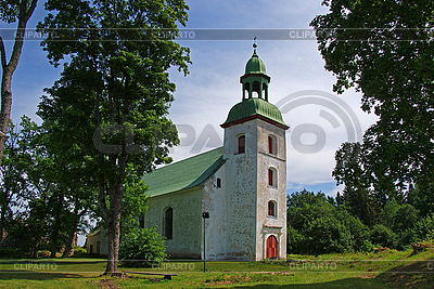 Church in Karksi-Nuia | High resolution stock photo |ID 3087609